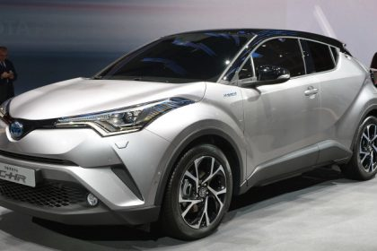 Excellent 2017 Toyota CHR Hybrid Unveiled At Geneva