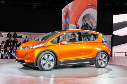 Images of Chevrolet Bolt electric car