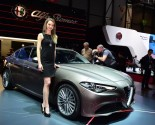 Images of Alfa Romeo Giulia at Geneva Motor Show 2016