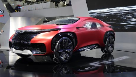Images of Chery FV2030 concept