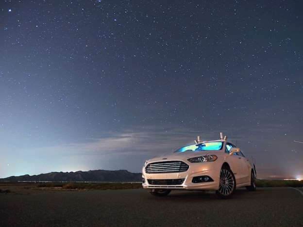 Ford to unveil self-driving Ford Fusion Hybrid sedan
