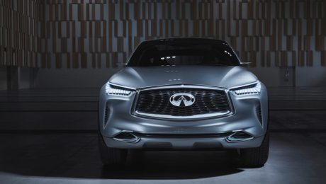 Images of Nissan's Infiniti qx sport inspiration concept