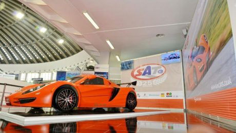 Images of Sin R1 sports car