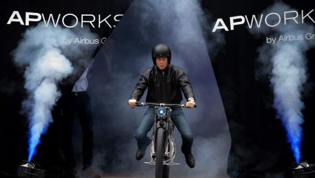 Airbus 3D Electric Motorbike images