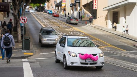 Lyft car sharing