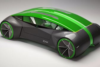 Images of Zoox car