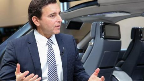CEO Mark Fields of Ford Motor