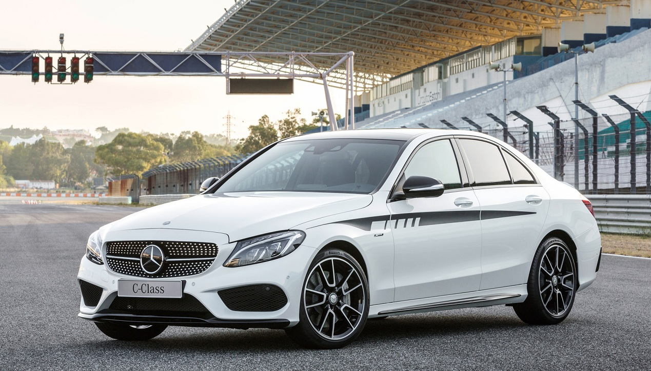 Mercedes-Benz C450 AMG 4MATIC now available at Nasser Bin Khaled ...
