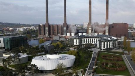 Volkswagen factory Wolfsburg Germany