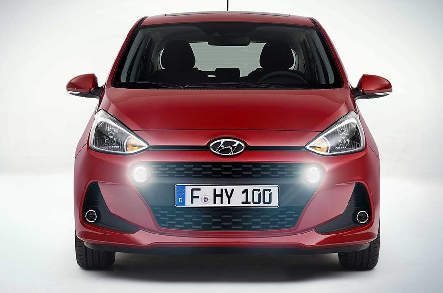 Hyundai i10 Facelift Model Revealed In Paris Ahead Of Debut