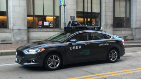 Uber test self driving
