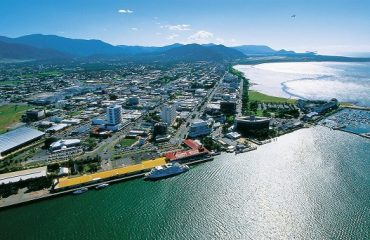Aerial of Cairns