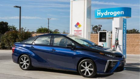 2016 Toyota fuel cell vehicle