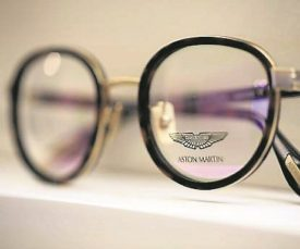 Aston Martin glasses