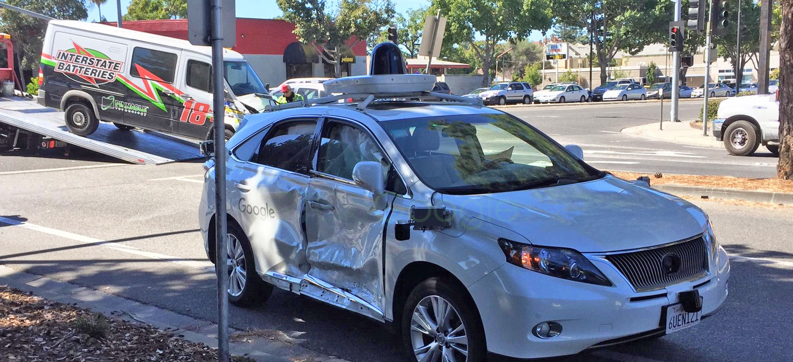 Google S Autonomous Car Is The Victim In A Serious Crash