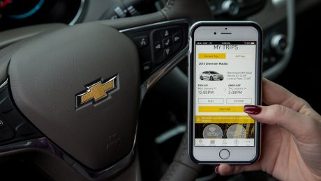 General Motors Maven smartphone car sharing app