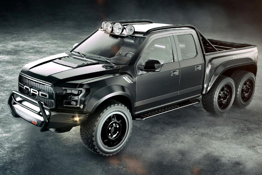 Hennessey Velociraptor 6x6 To Compete The Mercedes Amg G63 6x6