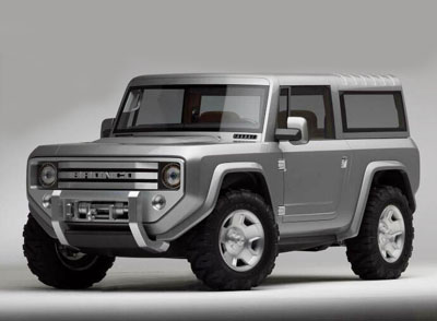 The Ford Bronco Is Officially Returning, Will Be Made In Michigan