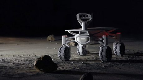 audi helps scientists to land a rover