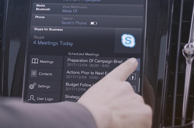Volvo high-end cars to come with Skype