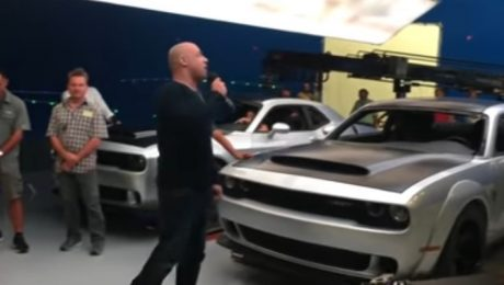 2018 Dodge Challenger Demon SRT leaked in Vin Diesel Facebook video