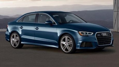 new facelift Audi A3 sedan