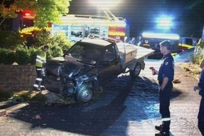 sydney teenager crashed ute while he was drunk