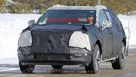 2018 Cadillac XT3 Test Mule Spied