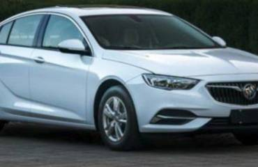2018 Buick Regal leaked in China images