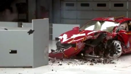 IIHS Tesla Model test