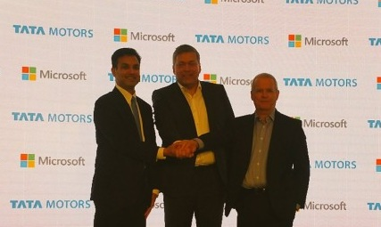 Tata Motors and Microsoft