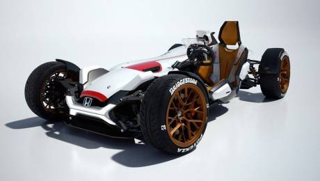 Honda files patent for radical mid engine sports car Project 2&4 Concept to Life