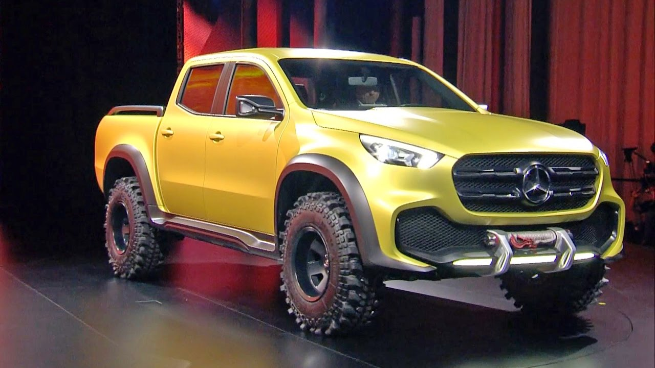 Mercedes may need to develop x class pickup in the us for Mercedes benz pickup truck