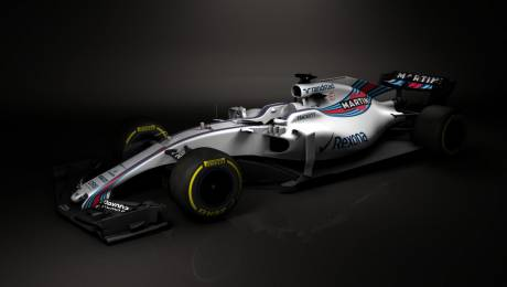 Williams reveal images of F1 2017 car