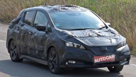 2018 Nissan Leaf spotted