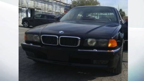 BMW 750iL, Tupac Shakur car for sale