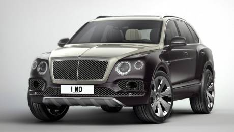 Bentley Bentayga Mulliner images