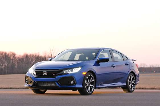 2017 honda civic si sedan rated at 32 mpg combined by epa. Black Bedroom Furniture Sets. Home Design Ideas