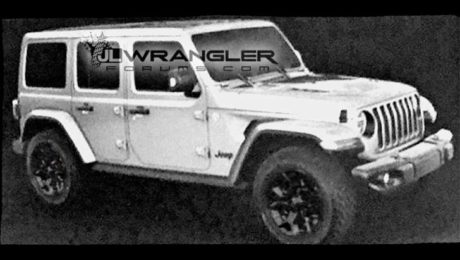 2018 Jeep Wrangler Unlimited Leaked