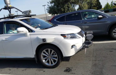 Apple Lexus self-driving vehicle