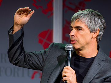 Alphabet Inc CEO Larry Page