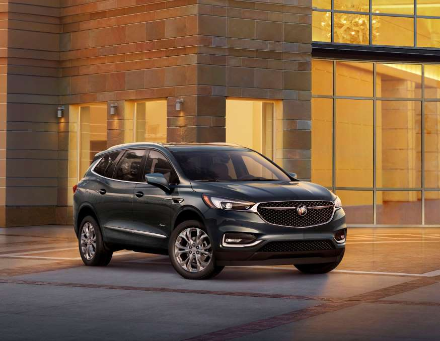 2018 buick enclave to cost bit over 40 000