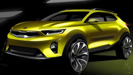 2018 Kia Stonic sketches