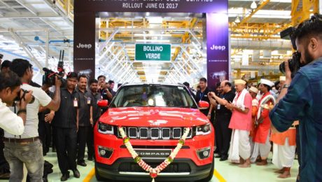 Jeep Compass rollout India, June 2017