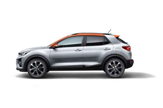 kia stonic subcompact crossover revealed for europe. Black Bedroom Furniture Sets. Home Design Ideas