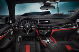BMW Black Fire Edition X5 and X6 M interior