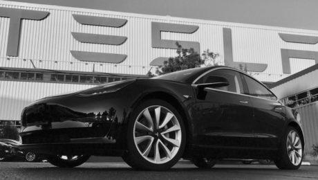 Tesla Model 3 production car