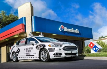 Domino's pizza delivery Ford Motor
