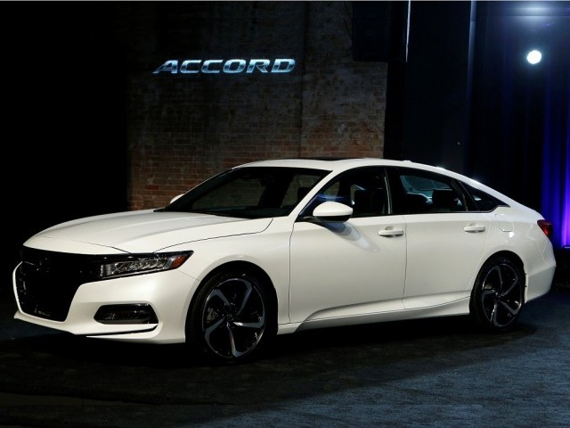 Honda Accord is Rolling Down the Line