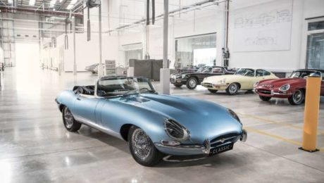 Jaguar E-Type pictures